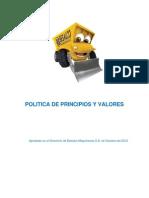 Politica de Principios y Valores BSM