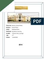 Mg.marco Torres Paz - Marketing Politico 2014