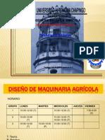 Diseño de Maquinaria Agricola_presentacion