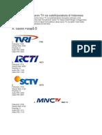 Daftar Frekuensi Siaran TV via Satelit