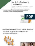 Evaluación de La Eficacia de La Publicidad y Relaciones Publicas