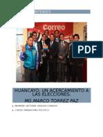 Informe Sobre Elecciones Provinciales Huancayo