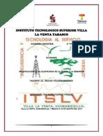 Instituto Tecnologico Superior Villa La Venta Tabasco Act. 2