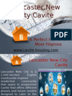 Lancaster New City Cavite - A Perfect Home for Most Filipinos