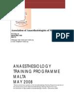 Anaesthesiology Train Prog