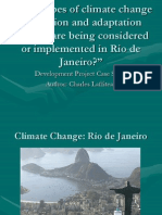 Rio de Janeiro Climate Change Case Study