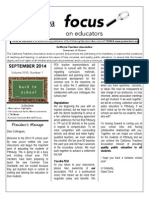 September 2014 Focus