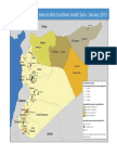 Inaccessible Locations Inside Syria - January 2013