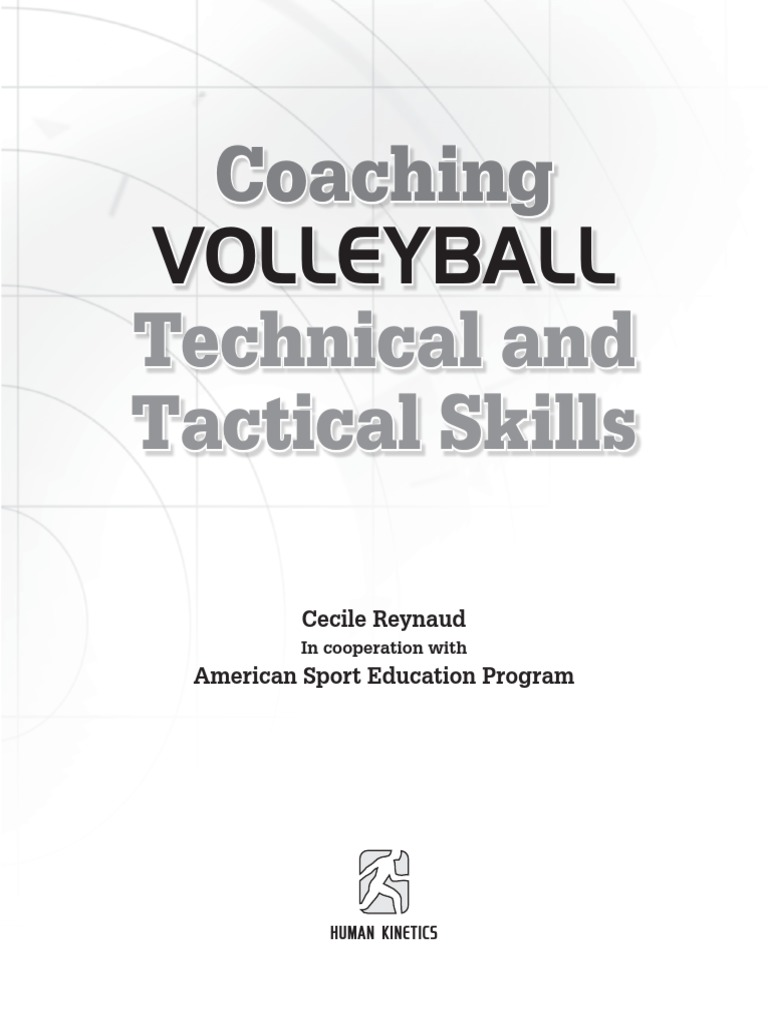 Coaching volleyball techical and tactical skills volleyball coaching volleyball techical and tactical skills volleyball recreation malvernweather Image collections