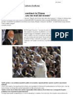Il Papa a Scalfari_ Così Cambierò La Chiesa _ - Repubblica