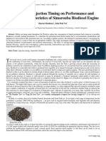 6 Influence of Injection Timing on Performance and Emission Characteristics of Simarouba Biodiesel Engine