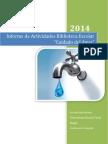 Informe Biblioteca Escolar Cuidado Del Agua