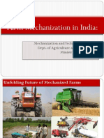 Agri COOP Presentation on Farm Mechanization Before Parliamentary Consultative Committee (Jan-2013)