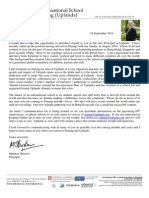 Uplands Alumni Introduction Letter 24th September 2014