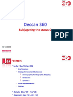 Deccan 360 Till Date and Way Forward
