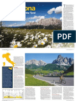 Bicycling Australia Maratona Dles Dolomites Brevet Cycling Holidays Review September 2014