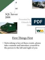 2010-SQL Saturday WM Presentation
