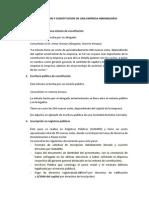 Formalizacion y Constitucion de Una Empresa