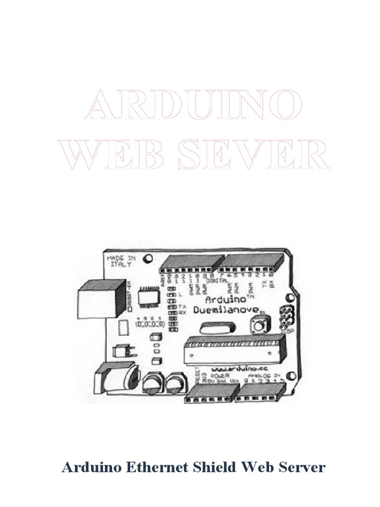 Arduino Ethernet Shield Web Server Tutorial   Html Element   Ajax