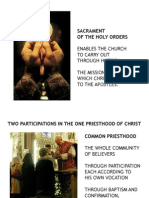 17. Holy Orders