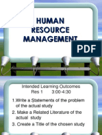 ETEEAP Human Resource Management