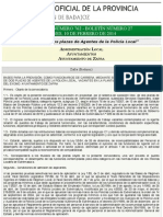 B.O.P. de Badajoz - Anuncio 00762:2014 Del Boletín Nº. 27 - Diputación de Badajoz