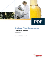 N12714 Gallery Plus Beermaster Operation Manual 5.2A in English
