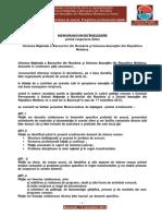 Memorandum de Înţelegere UNBR-UARM