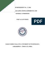 assistant  lectureship details