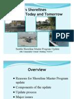 Seattle Shoreline Master Program Update