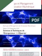 Séance 2 - Sciences & Techniques de l'entrepreneur 1