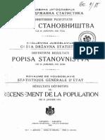 Popis BiH 1921 (Otključano)