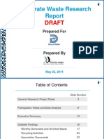Dallas Corporate Waste Repor Draft