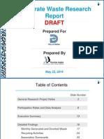 Dallas Corporate Waste Repor Draft