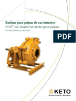 KETO Pumps K-HS Product Brochure_LA Spanish