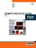 Pro Evolution MXE Panel User Manual