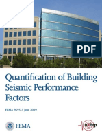 Fema_p695 Quantification of Building Seismic Performance Factors