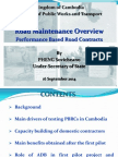 ADBTF14_C1 Cambodia Road Maintenance Overview