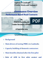 ADBTF14_C1 Cambodia Road Maintenance Overview