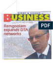 RamgoolamExpandsDTAnetwork-NewsOnSunday19-25September2014