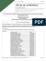 B.O.P. de Badajoz - Anuncio 00220:2014 Del Boletín Nº. 11 - Diputación de Badajoz