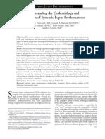 Understanding the Epidemiology Sle