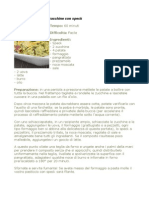Pasticcio Di Patate e Zucchine Con Speck