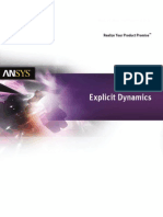Explicit Dynamics Solutions 14.0