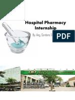 Hospital Pharmacy Internship