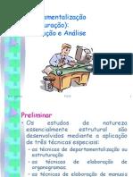 PO-08 - Departamentalizacao - Formulacao e Analise