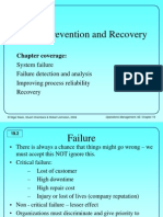 7 Failure Prevention and Recovery