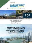ADBTF14_B1 Optimising Under Constraints - S'Pore Transport Goals