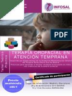 Programa Terapia Orofacial en Atención Temprana