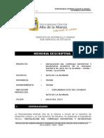 Memoria_descritiva Parque Acuatico